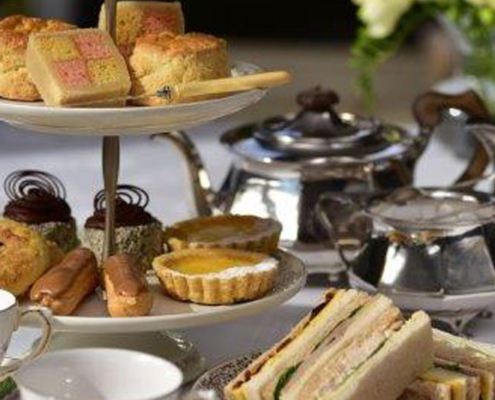 Traditional Afternoon Tea Catering - Bespoke Queenstown Caterers Focus on Food